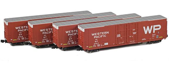 Greenville 60' Boxcars | Western Pacific