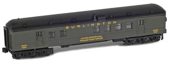 BURLINGTON RPO UNITED STATES MAIL RAILWAY POST OFFICE