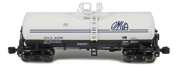 17,600 Gallon Tank Cars   UTLX   OMYA