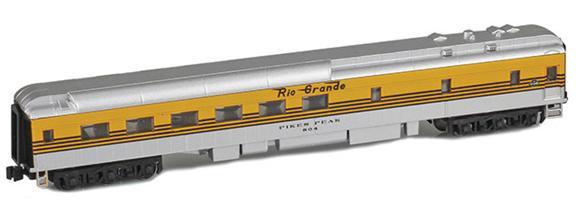 Denver & Rio Grande Heavyweight Passenger Cars