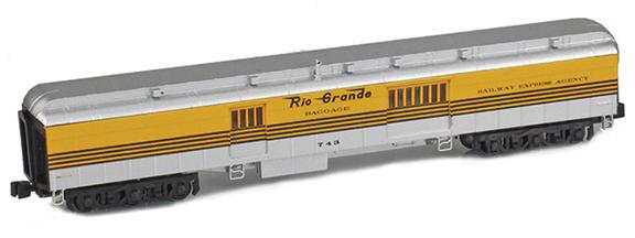 Denver & Rio Grande Heavyweight Passenger Cars