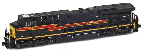 Iowa Interstate ES44A