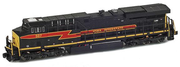 Iowa Interstate ES44A