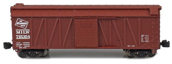 40' Outside braced boxcar