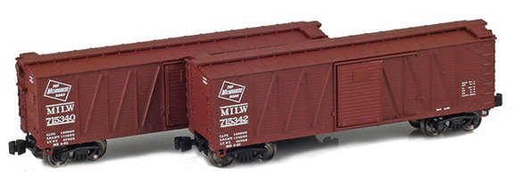 40' Outside braced boxcar