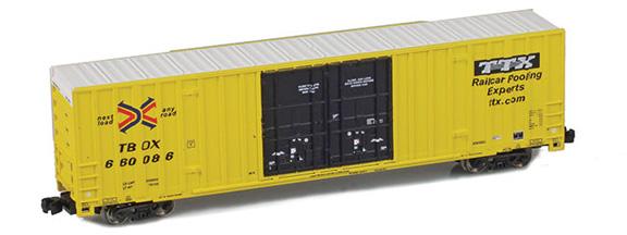 Gunderson 60' High Cube Boxcar Singles | TTX