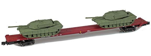 DODX 89' Flat 41082 2x M1 Loads | Olive green
