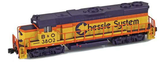 Chessie GP38-2 B&O