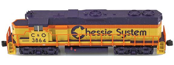 Chessie GP38-2 C&O
