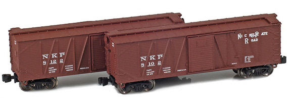 40' Outside braced boxcar – Nickel Plate
