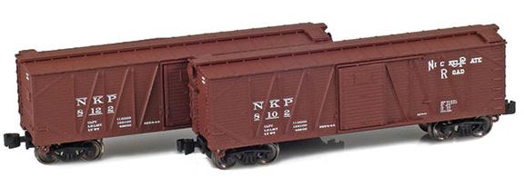40' Outside braced boxcar – Nickel Plate