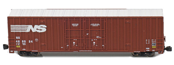 Gunderson 60' High-cube Boxcar singles - NS