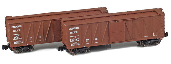 40' Outside Braced Boxcar | Canadian Pacific