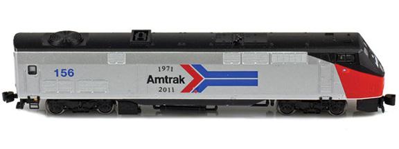 Amtrak® GE P42 Genesis 156 Phase I Heritage