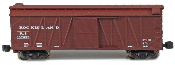 40' Outside Braced Boxcar | Rock Island