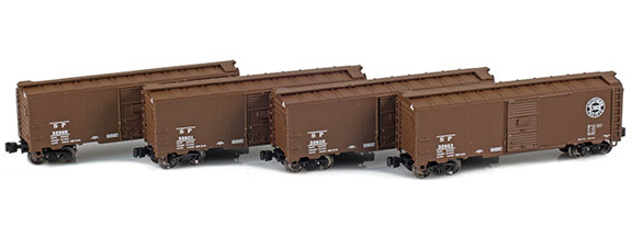1937 40' AAR Boxcars – Southern Pacific