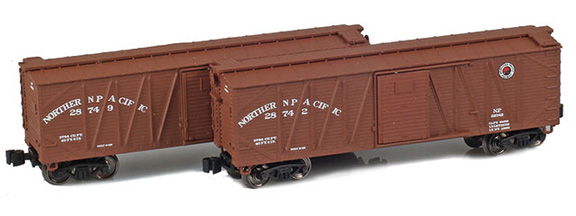 40' Outside braced boxcar – Northern Pacific