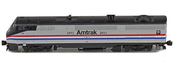 63509-1 Amtrak® GE P42 Genesis 145 Phase III Heritage