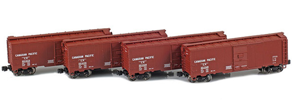 1937 40' AAR Boxcars – Canadian Pacific
