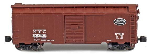 1937 40' AAR Boxcars – New York Central