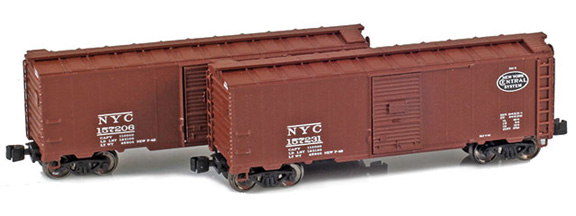 1937 40' AAR Boxcars – New York Central