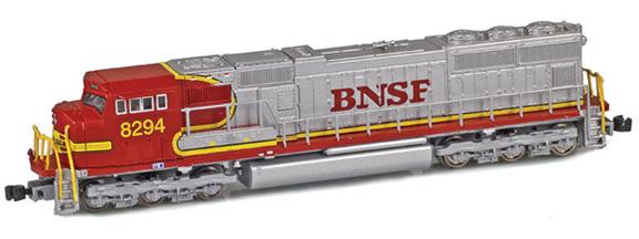 BNSF SD75i War Bonnet