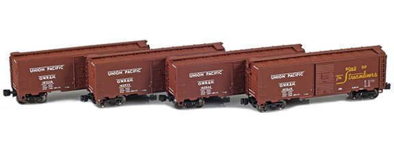 1937 40' AAR Boxcars – Union Pacific