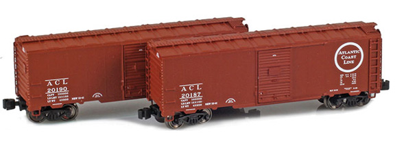 1937 40' AAR Boxcars – Atlantic Coast Line