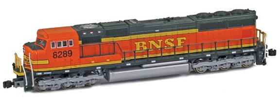 BNSF SD75i Heritage II