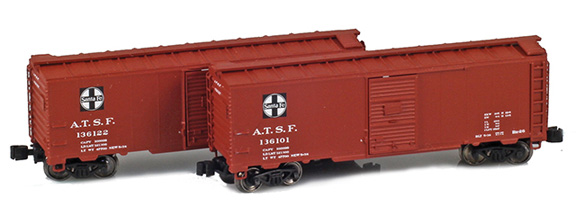 ATSF 1937 40´ AAR Box Car