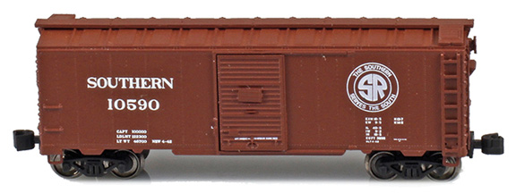 1937 40' AAR Boxcars – Southern