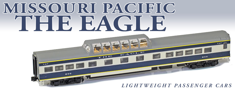 Missouri Pacific Lightweight Passenger Cars