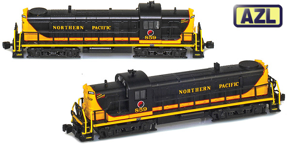 ALCO RS Locomotives