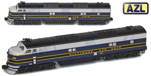 EMD E7 Locomotives