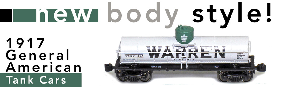 Warren Tank Cars